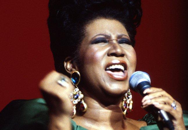 Aretha Franklin anuncia que encerrará a carreira com disco produzido por Stevie Wonder