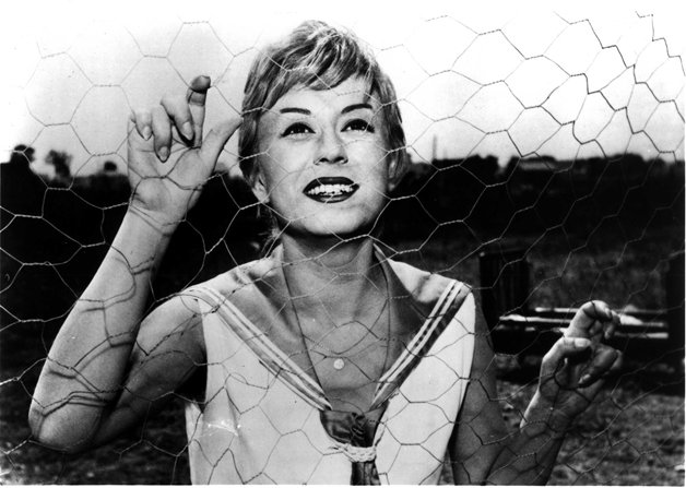 Giulietta Masina as the title character in Federico Fellini's NI