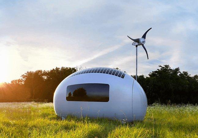 Esta casa-móvel produz sua própria energia e permite viajar o mundo economizando na hospedagem