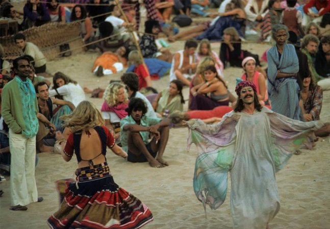 Registros fotográficos de Goa, o paraíso hippie da Índia nos anos 1970 e 1980