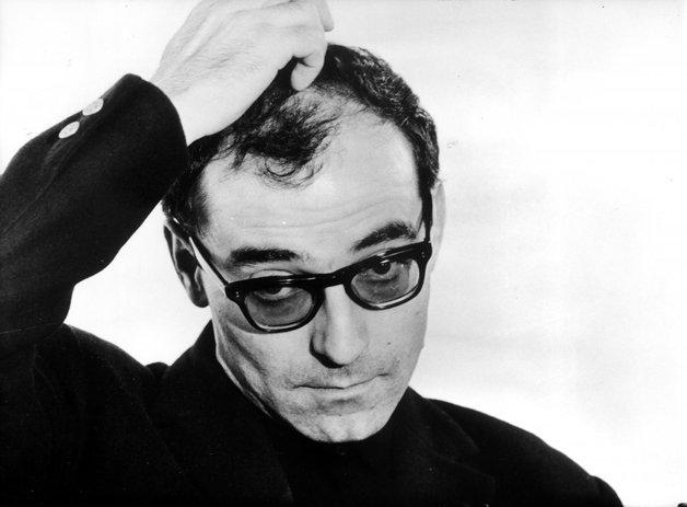 O diretor francês Jean-Luc Godard