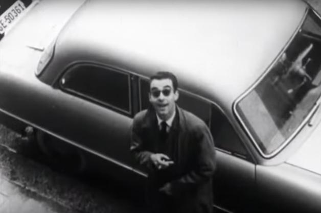 Godard em cena no filme redescoberto