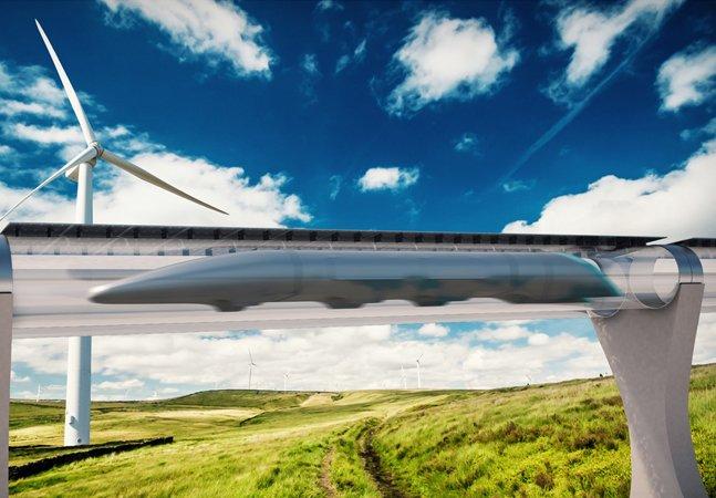 Conheça o futuro do transporte em alta velocidade