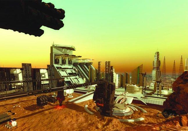 Os Emirados Árabes Unidos estão planejando construir uma mini-cidade em Marte nos próximos 100 anos