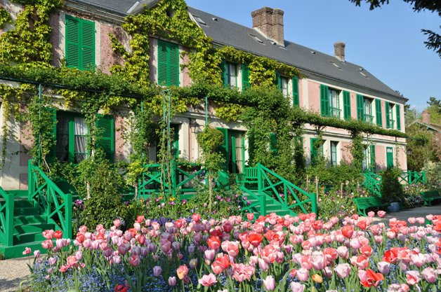 A casa de Monet, em GIverny