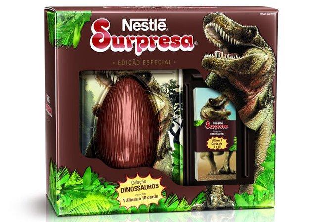Sucesso nos anos 1980, chocolate Surpresa está de volta como ovo de páscoa especial