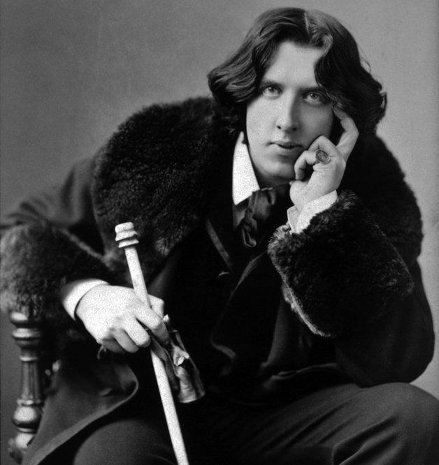 O escritor Oscar Wilde