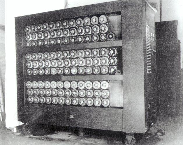 A máquina desenvolvida por Turing para decifrar as mensagens nazistas