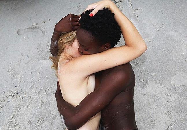 A beleza feminina, o amor lésbico e o peso do racismo na fotografia sensual de  Anne Barlinckhoff