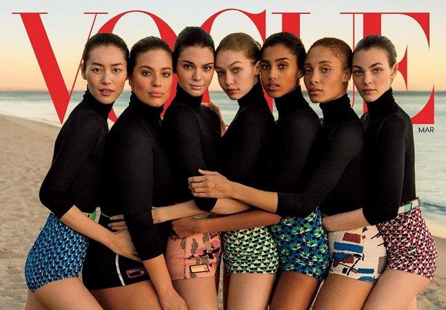Depois de muito desafiar a indústria da beleza, a maravilhosa Ashley Graham chega à capa da Vogue