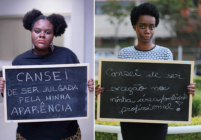 Série fotográfica mostra o que mulheres negras brasileiras cansaram de ouvir