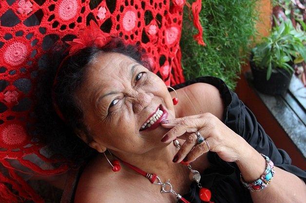 Cantora Dona Onete. FOTO: CAMILA LIMA/ASCOM FUNTELPA DATA: 15.02.2012 BELÉM-PARÁ