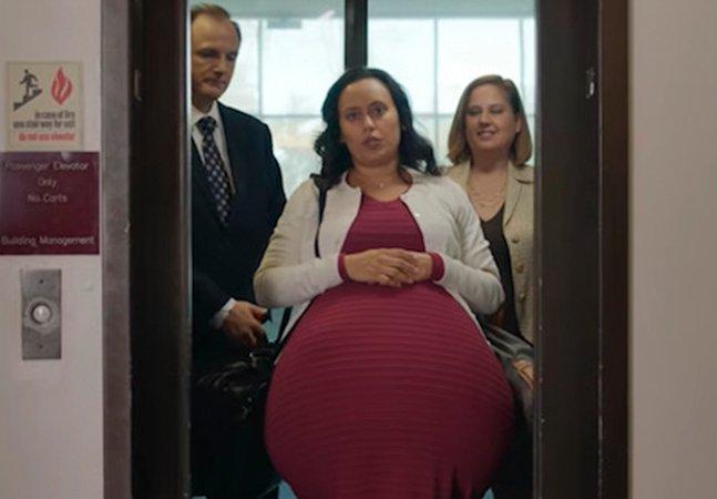 A história da mulher 'grávida há 5 anos' tentando juntar dinheiro e dias de folga suficientes pra cuidar do bebê