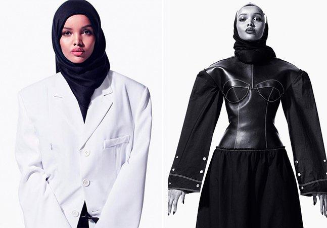 Primeira Miss a desfilar com trajes muçulmanos é a nova promessa do mundo da moda