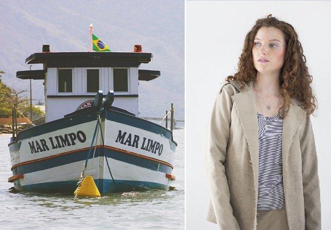 Marca de slow fashion utiliza lonas e redes descartadas  no mar como matéria-prima