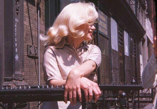 Fotos inéditas de Marilyn Monroe aparece supostamente grávida são reveladas por tabloide