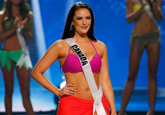 A resposta da Miss Canadá à pergunta de como ela se sentia sendo mais 'gordinha' é uma lição de amor próprio