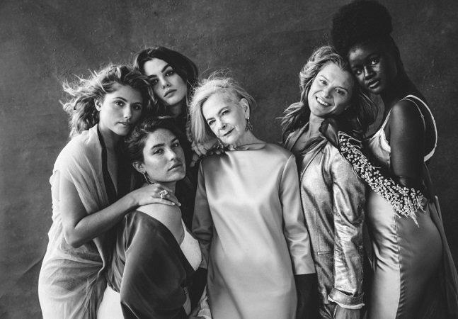 Essa série fotográfica é uma ode à beleza feminina sem retoques