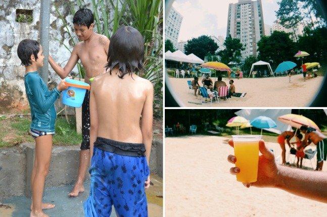 Praia urbana agita o verão de São Paulo e traz brisa litorânea para a capital