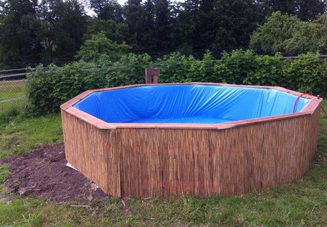 Arquiteto ensina a fazer uma piscina com pallets, gastando apenas 300 reais