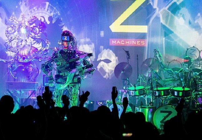 Assista à primeira banda totalmente formada por robôs em ação