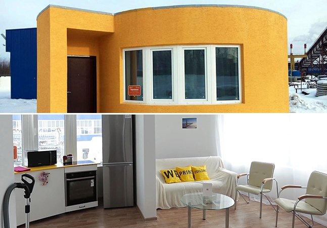 Startup usa impressora 3D móvel para criar casa em apenas 24 horas e por cerca de R$ 31 mil
