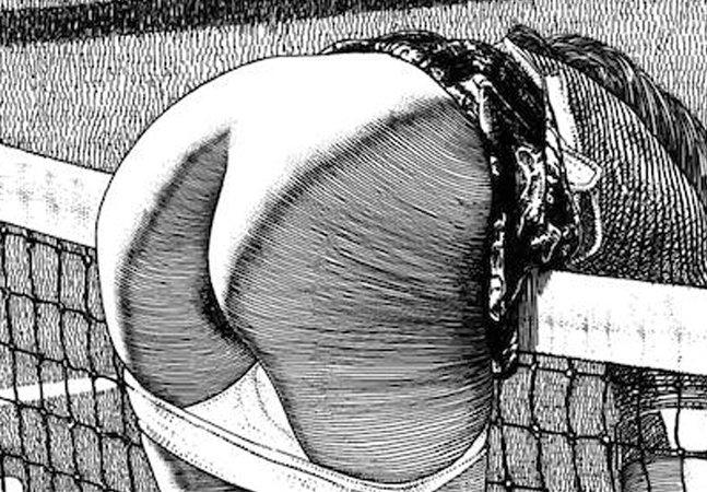 As incansáveis ilustrações eróticas da poderosa e misteriosa Apollonia Saintclair