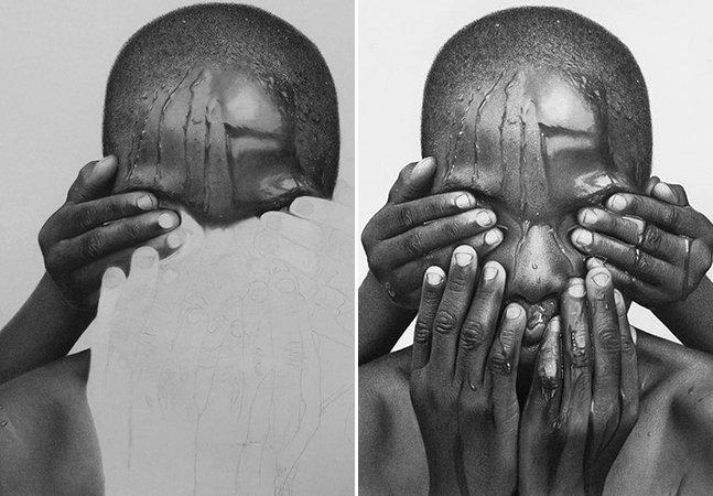 Você precisa conhecer as pinturas que parecem fotografias do nigeriano Arinze Stanley