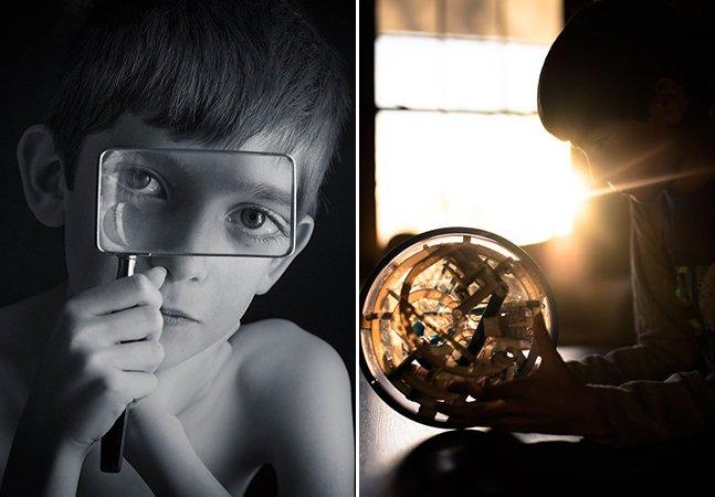 Ela transforma o autismo do filho em arte através dessas lindas imagens