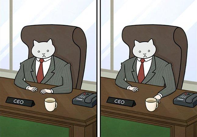 10 novas imagens de 'Como seu chefe te trataria se ele fosse um gato'
