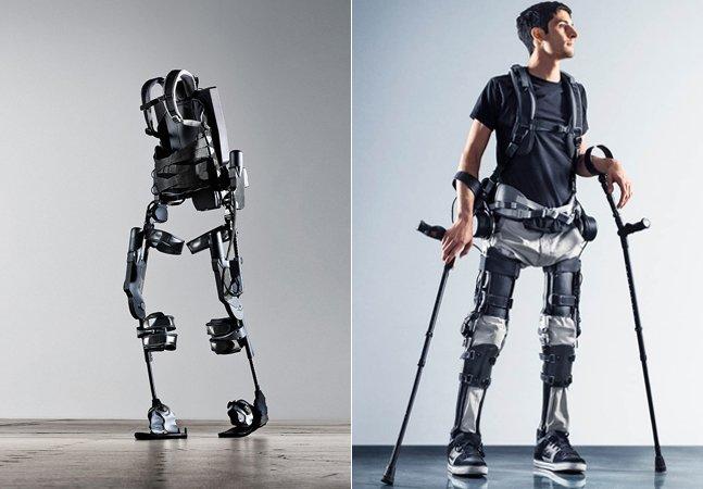Empresa usa tecnologia de filmes de ficção científica pra ajudar pessoas paralisadas a voltarem a andar