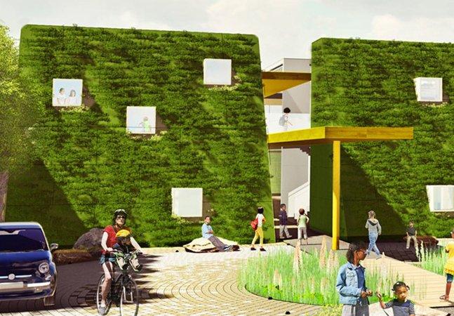 A primeira escola agrícola urbana dos EUA está em construção na Califórnia