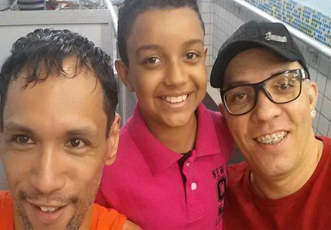 João comoveu a todos com seu relato sobre o 'menino mais feliz do mundo': ele, após ter sido adotado por dois pais