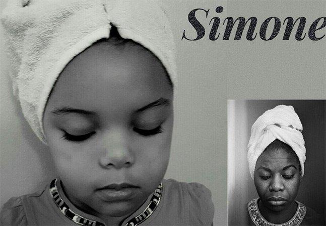 Menina de 5 anos recria fotos de mulheres que a inspiram no mês da história negra nos EUA