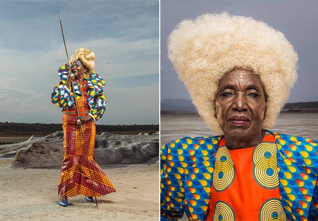 Entre mutilação genital feminina e moda, fotógrafo cria série poderosa para falar sobre África