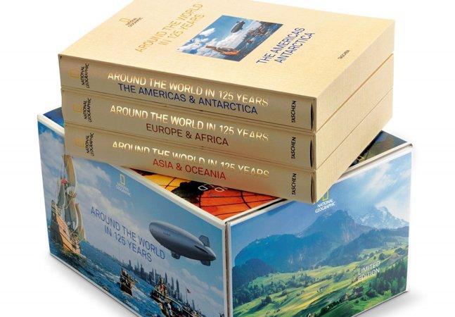National Geographic comemora 125 anos abrindo seus arquivos em livro histórico da Taschen