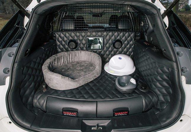 Finalmente criaram um carro totalmente adaptado para quem tem cachorro na família