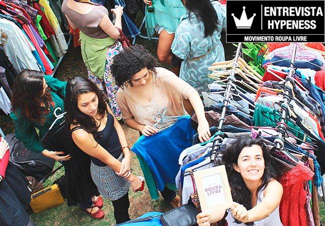 'A gente não precisa de roupas novas': o incrível movimento brasileiro Roupa Livre