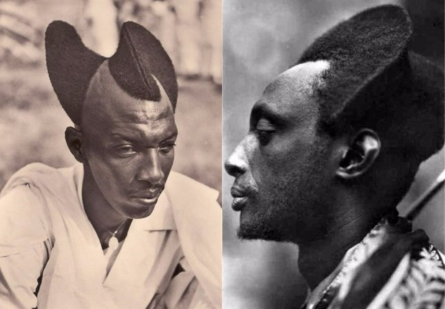 Série de fotos mostra os penteados únicos e criativos em Ruanda dos anos 20