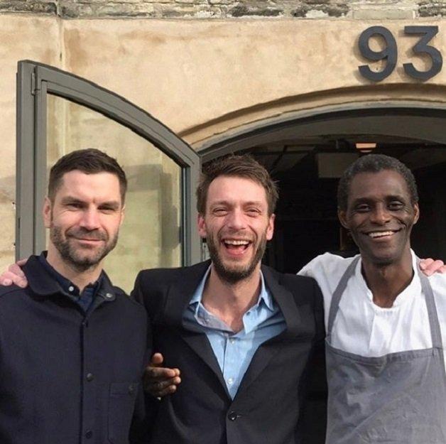 René, ao centro, e Ali, à direita. Foto: René Redzepi no Instagram