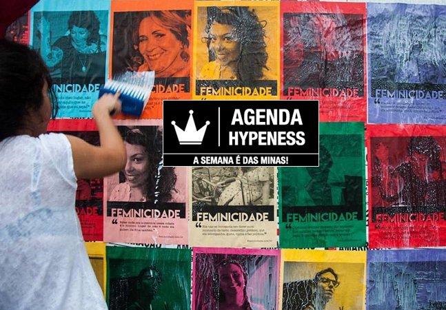 Festival empoderado, música e arte feminina: a Agenda Hypeness da semana é das minas