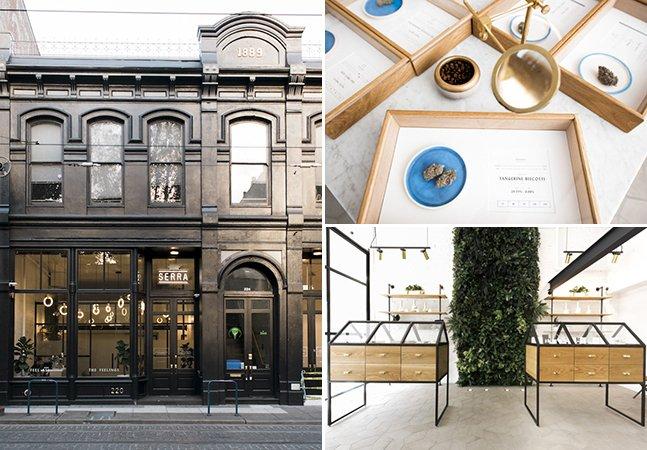 A loja cheia de design e sofisticação que quer dar uma nova face ao consumo de maconha