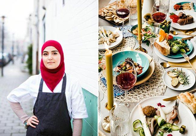 Restaurante aberto com crowdfunding emprega refugiados que promovem sua própria gastronomia