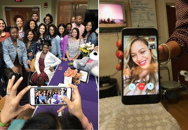 Força mana! Adolescente com tipo raro de câncer recebe ligação motivadora de Beyoncé