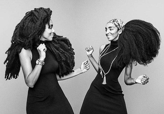 Estas duas irmãs tinham vergonha de seus cabelos até se tornarem famosas por eles