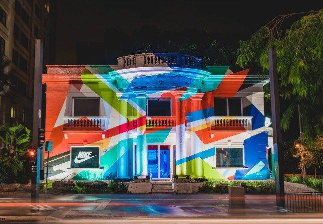 Nike abre espaço com treinos gratuitos para público em São Paulo
