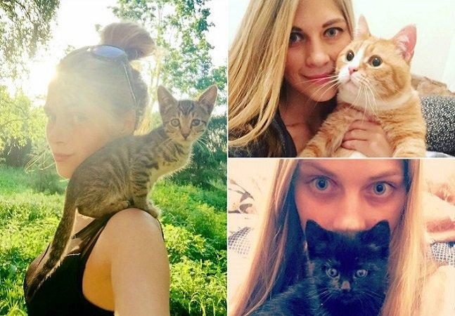 A mulher que já resgatou mais de 350 gatíneos em dois anos