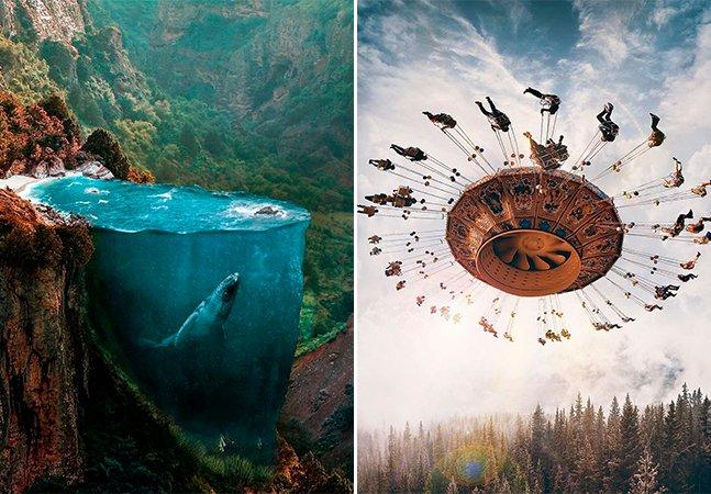 Se pudéssemos fotografar nossos sonhos eles se pareceriam com o trabalho deste artista turco