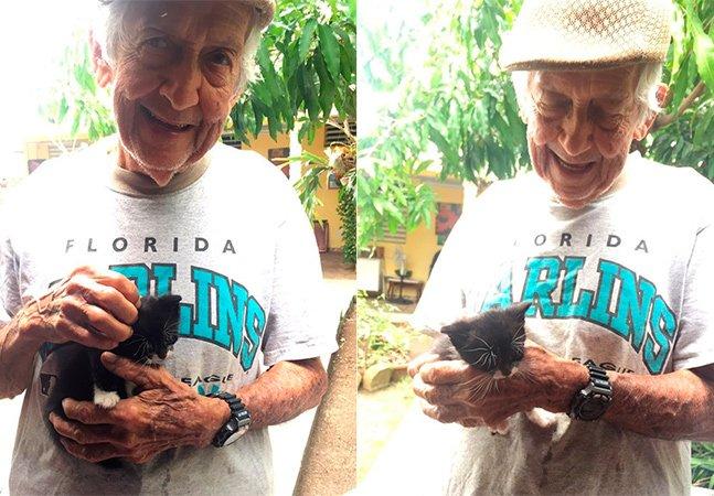 Após a mulher proibi-lo de levar gatíneos para casa, ele começou a criá-los em segredo