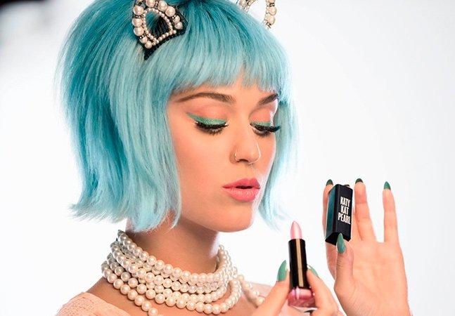 Katy Perry vai lançar linha de maquiagem inspirada em sereias e já tem gente morrendo de ansiedade